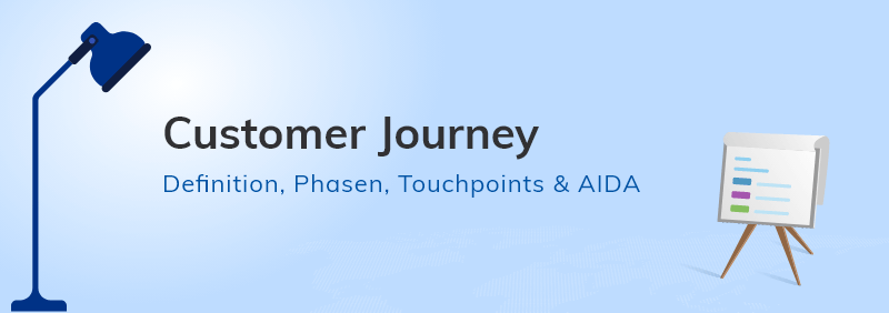 Customer Journey Definition, Phasen, Touchpoints & AIDA
