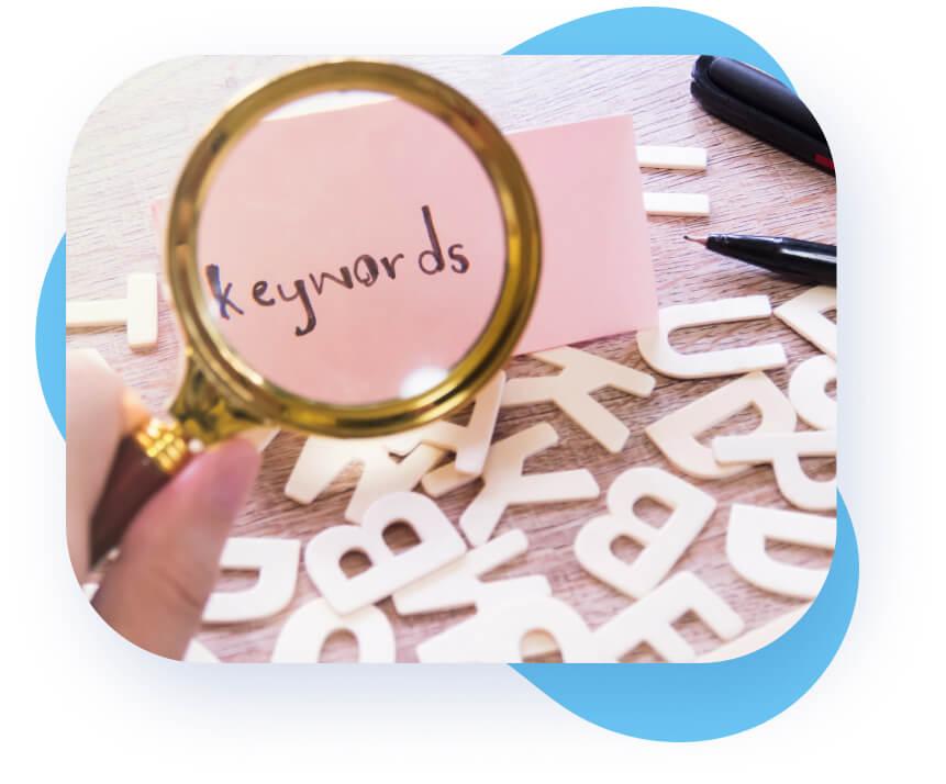 Keyword Recherche Paket